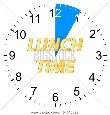 Lunch time clock