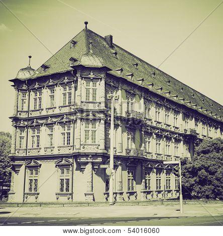Vintage Sepia Romish Germanisches Zentralmuseum Mainz