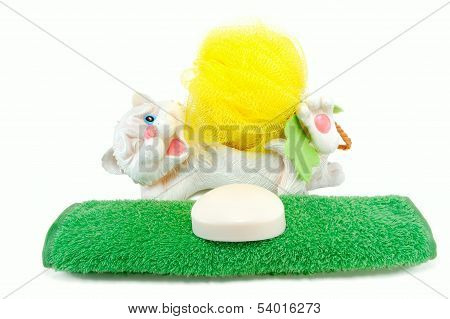 Towel, Soap, Washcloth