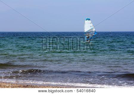 The Windsurfer On The Sea