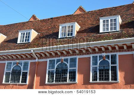 Row of Tudor Windows