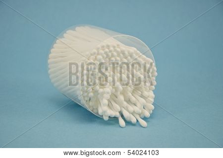Cotton Swab Package For Cleaning Ear