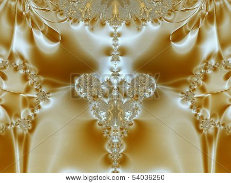 Caramel abstract picture