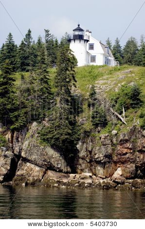 Arcadia Maine Lighthouse Bear Island Amlh4661 Pct4661