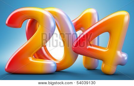 2014 New Year Digits
