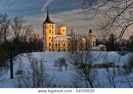 Mariental Castle In Winter