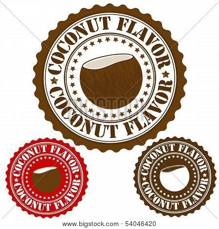 Coconut Flavor Stamp