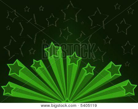 Retro Star Illustration