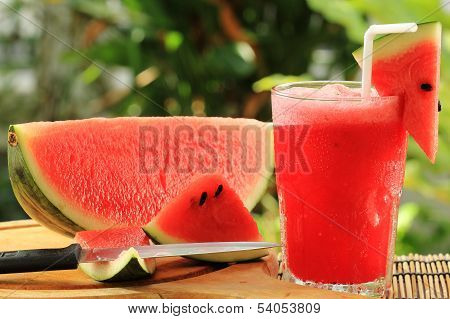 Fresh Watermelon Smoothie