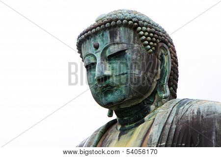 Close Up View For Giant Daibutsu