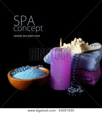 Spa concept in black