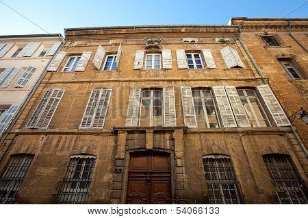 Hotel De Barlet (circa Xviii C.). Aix-en-provence, France