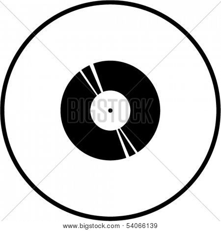 vinyl old lp disc