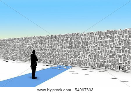 Pages Paper  Wall 3D Isometry