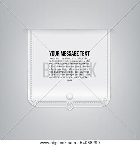 Design Template. Vector Background. Illustration.