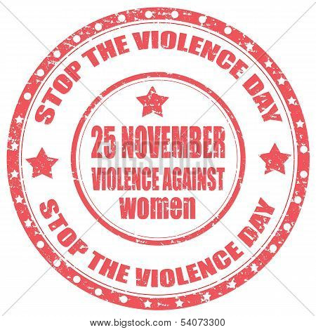 Stop The Violence Day-stamp