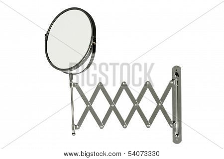 Round Stainless Steel Magnifying Mirror