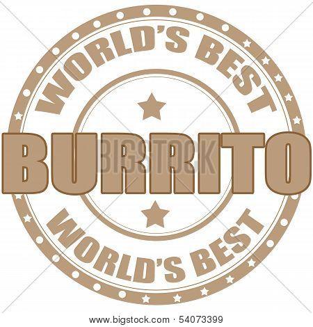 Burrito-stamp