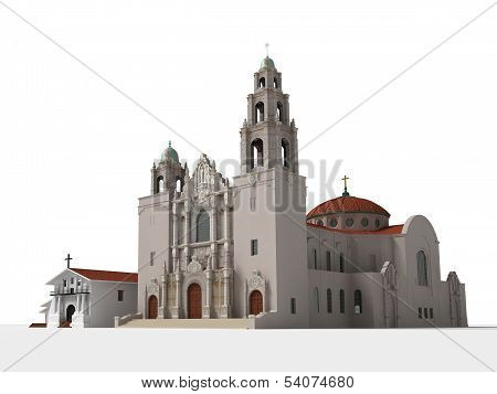 Mission Dolores, a late 18th century Catholic Church in San Francisco