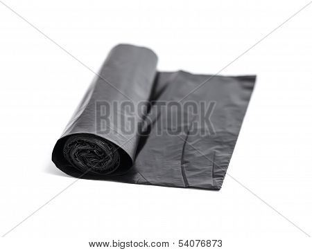Roll Of Black Trash Bags