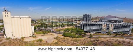 A Mill Avenue And Rio Salado Parkway Shot