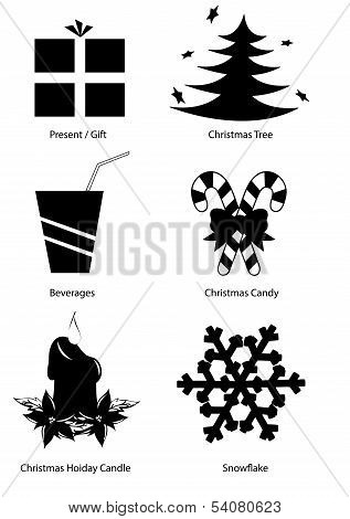Christmas Holiday Vector Clipart