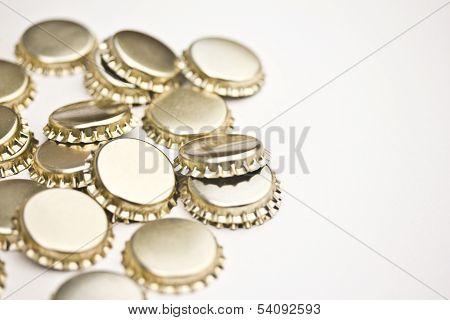 Lots of bottle caps