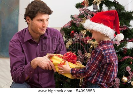 Christmas Present Form Older Brother