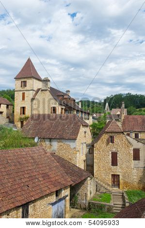 French village in France perigord