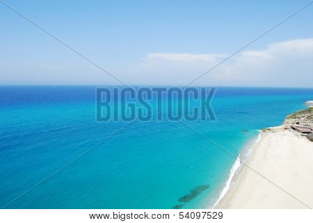 Sea And Beach Of Tropea - Calabria - Italy