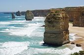 pic of 12 apostles  - Twelve Apostles, Great Ocean Road, Victoria, Australia