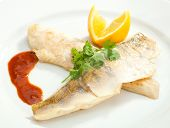 Grilled Pike Perch With Lemon