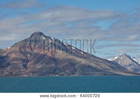 Coal Mining in Isfjorden, Spitsbergen