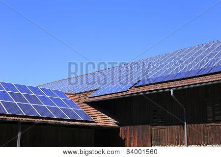 blue photovoltaic