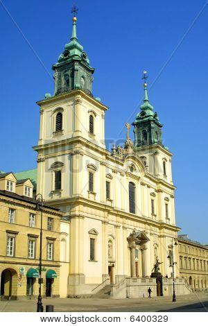 Iglesia de la Santa Cruz en Varsovia