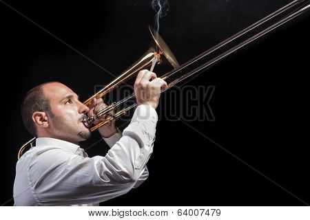 Smoking With A Trombone