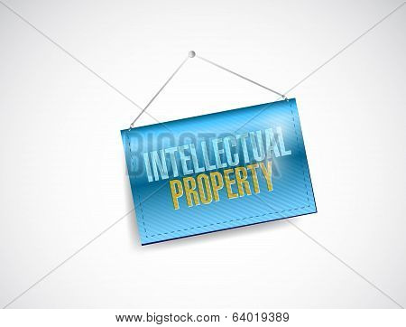 Intellectual Property Banner Illustration Design