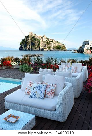 Patio on Ischia Island
