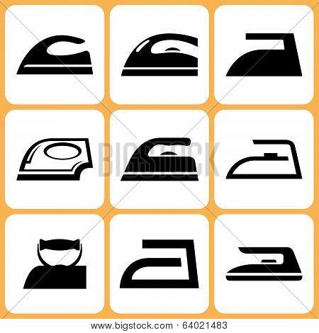 Iron icons set
