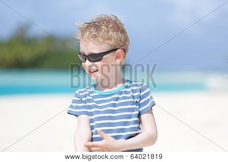Boy At Vacation