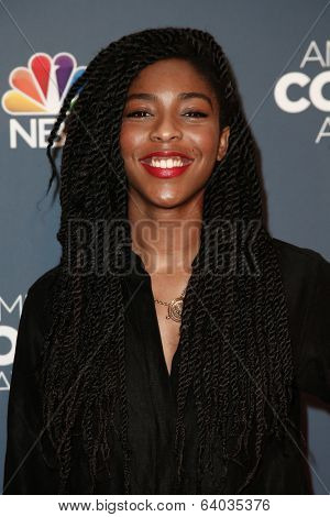 NEW YORK-APR 26: Jessica Williams attends the American Comedy Awards at the Hammerstein Ballroom on April 26, 2014 in New York City.