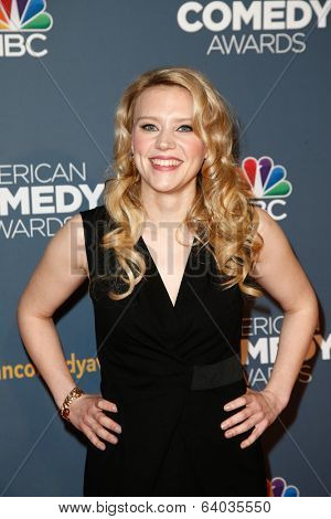 NEW YORK-APR 26: Comedian Kate McKinnon attends the American Comedy Awards at the Hammerstein Ballroom on April 26, 2014 in New York City.