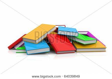 Heap Of Untidy Books