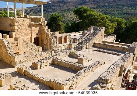 The Ruins Of Minoan Civilization