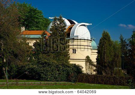 Observatory on Petrin Hill.
