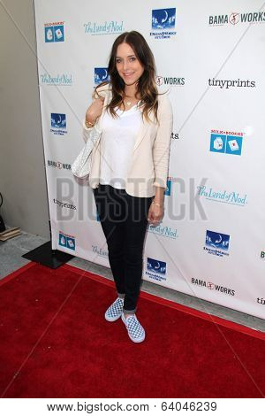 LOS ANGELES - APR 27:  Jenny Mollen at the Milk + Bookies Story Time Celebration at Skirball Center on April 27, 2014 in Los Angeles, CA