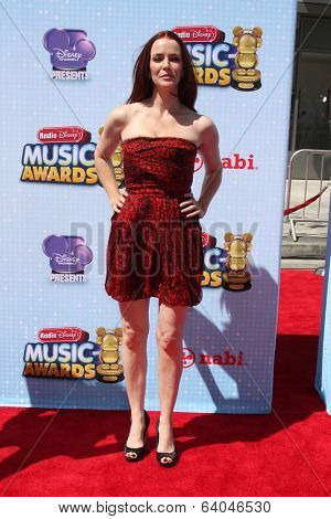 LOS ANGELES - APR 26:  Annie Wersching at the 2014 Radio Disney Music Awards at Nokia Theater on April 26, 2014 in Los Angeles, CA