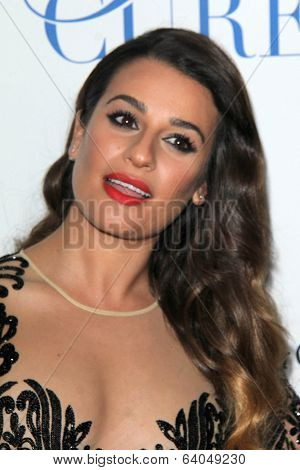 LOS ANGELES - APR 25:  Lea Michele at the 19th Annual