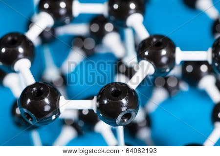 Model Of Graphite Molecular Structure
