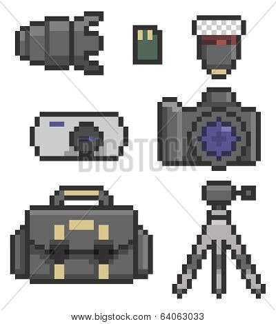 Photographic Icon Set